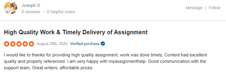 myassignmenthelp reviews